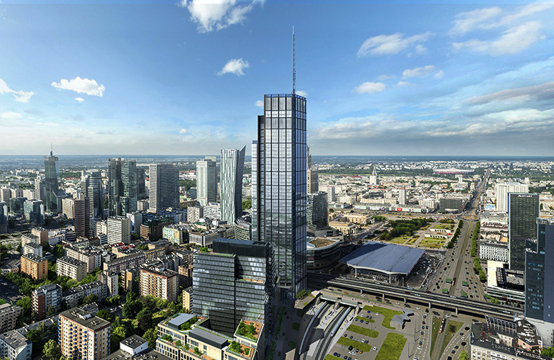 Cамое высокое зданием в Европейском Союзе VARSO TOWER
