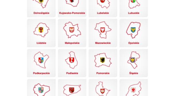 Gmina, Povyat, Voyevodstvo - Administrativnoye deleniye Pol'shi